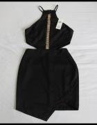 Nowa sukienka mała czarna Miss Selfridge seksowna 38 40...