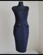 Elegancka sukienka Baskinka i siateczka Dorothy Perkins super j...