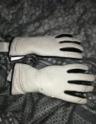 Skórzane rękawice reush stan idealny rozmiar 8