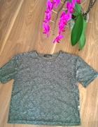 Koronkowa bluzeczka khaki...