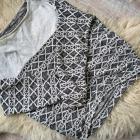 Bluza azteckie wzory Butik M L asymetryczna