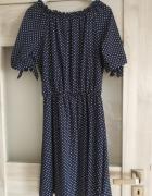 sukienka w groszki nowa...