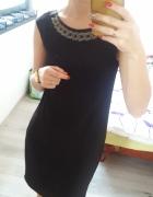 Sukienka mała czarna elegancka Reserved 34 XS