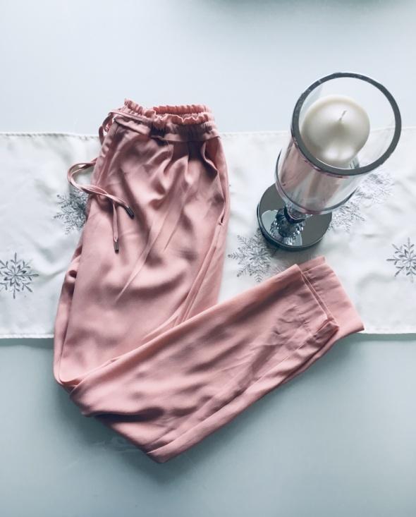 Spodnie Pudrowy Róż Zara XS 34...