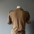 Beżowa sportowa bluzka rozmiar S