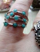 Stary pierścionek turkusy...