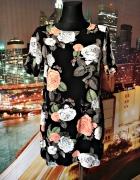 dorothy perkins sukienka mini kwiaty róże hit 38