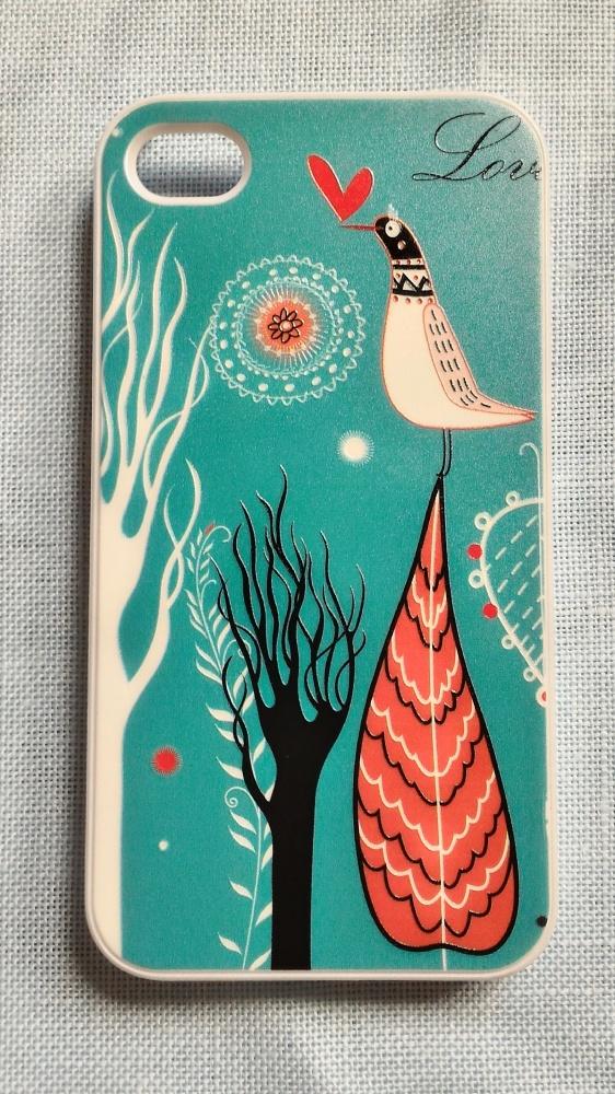 Obudowy i etui Nowe etui case iPhone 4 4S obudowa wzór ptaki natu