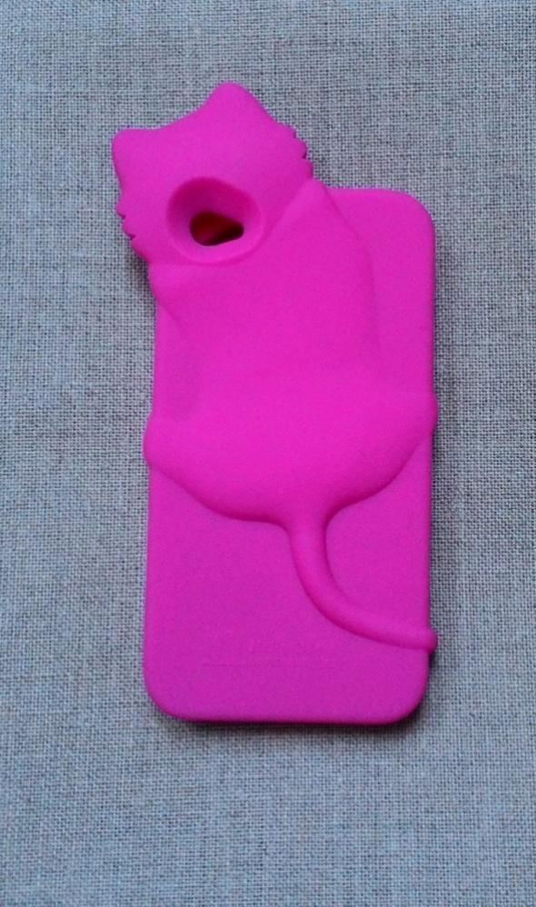 Nowe etui case iPhone 4 4S kot kotek róż różowe si