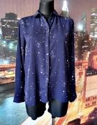 primark koszula jak nowa granatowa wzór gwiazdy gwiazdki 36 S...