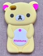 Nowe etui case iPhone 4 4S miś silikonowy żółty pa...