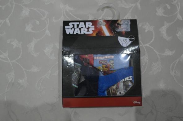 Nowe 3 pary slipek Star Wars 92 98