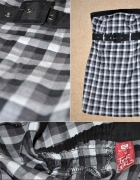 sukienka mini kratka cropp XS 34...