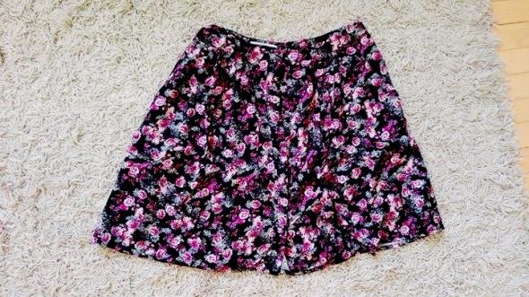 Spódnice spódniczka S M floral 36 guziczki new look 10