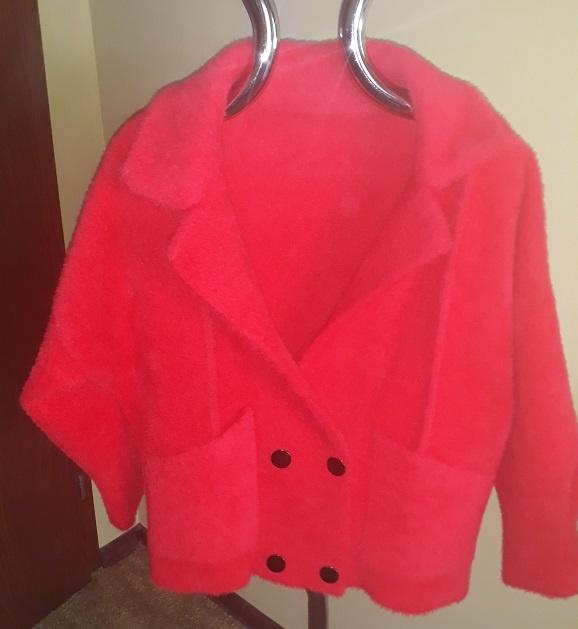 Odzież wierzchnia kurtka z alpagi nowa z metkami