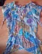 bluzka wzór aztecki
