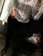 Biała koszula w paski RESERVED