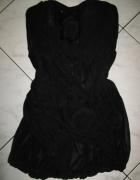 NEXT czarna sukienka z kwiatkiem roz 36...