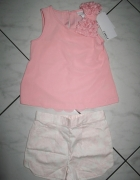CAMILLA komplet bluzka i spodenki dziewczynka r 86