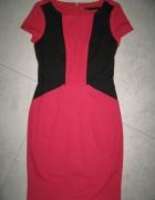 NEXT różowa sukienka ze ściągaczem roz 36...