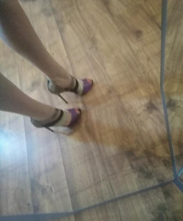 Sandały Szpilki wysokie sandały na obcasie długość wkładki 28 cm Sergio Todzi