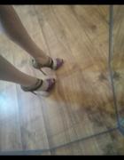 Szpilki wysokie sandały na obcasie długość wkładki 28 cm Sergio...