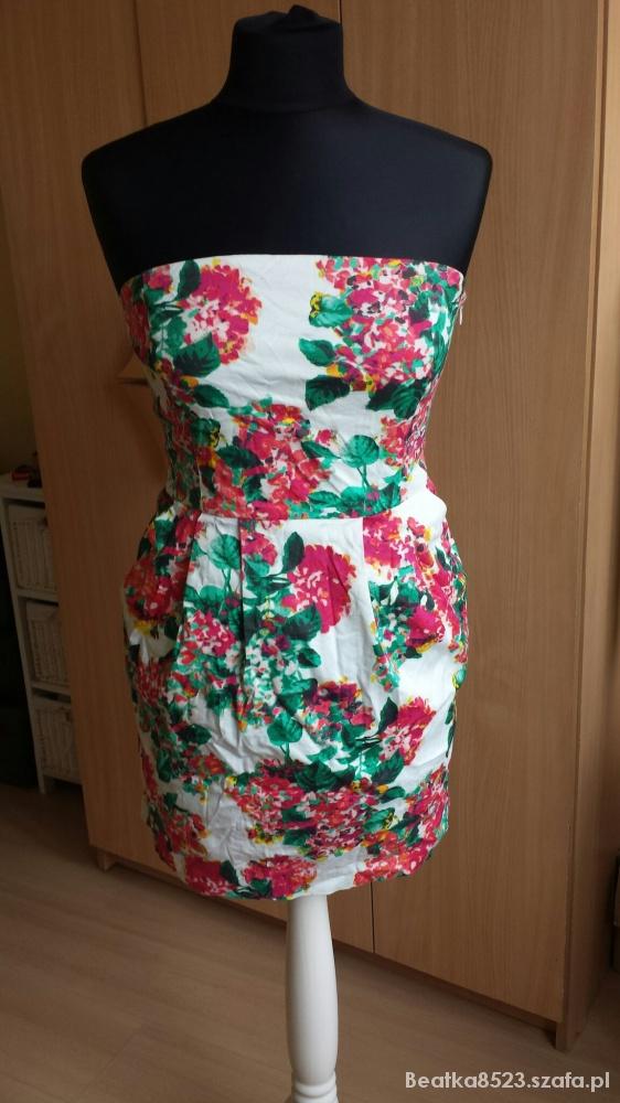 Suknie i sukienki Kwiecista bombka