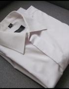Biała koszula męska regular 39 wzrost 176 do182 cm...