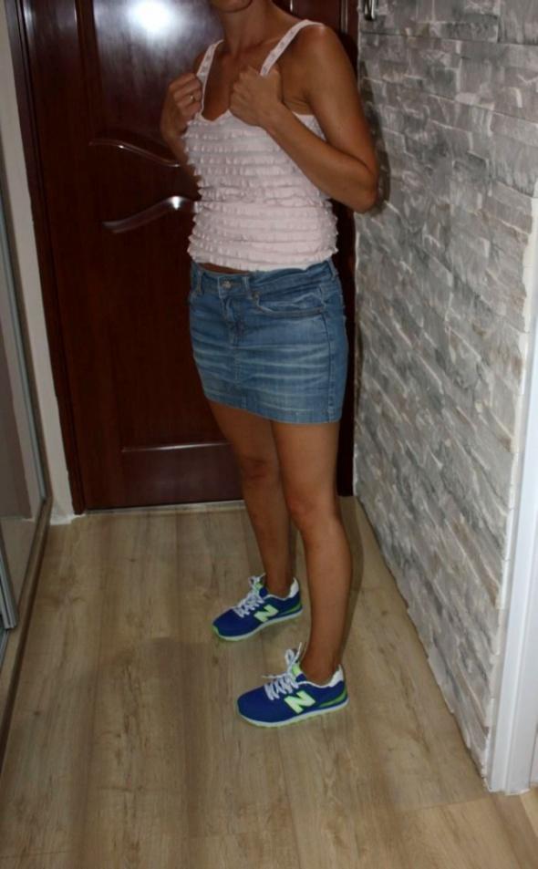 Spódnice jeansowa spódniczka mini