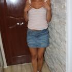 jeansowa spódniczka mini