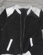 Bluza kurteczka czarno biała Atmosphere
