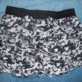 Mini spódniczka kobieca z falbankami M L