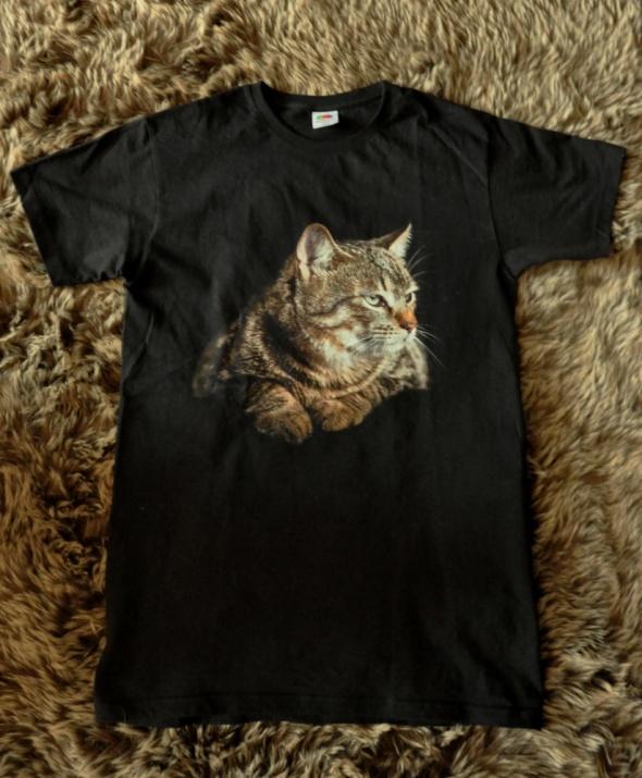 Koszulki koszulka z kotem