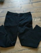 H&M czarne spodnie szerokie nogawki XL...