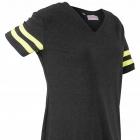 Sportowy shirt odblaskowe żółte paski