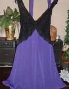 fioletowa sukienka roz40