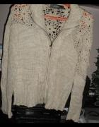 sweterek kawowy roz 44