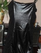 sukienka z wstawka z lajkry roz 38