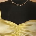 OKAZJA USCO nowa z metką piękna satynowa bluzka top koszulka pastelowy kamienie naszyjnik gratis S