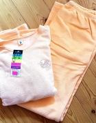 Piżama frotte pomarańczowa L 40 nowa