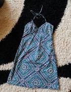 Letnia sukienka zawiązywana na szyi H&M 40