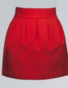 Czerwona spódniczka s...