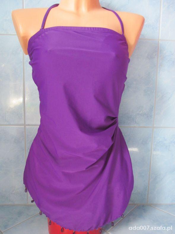 Fioletowy kostium