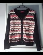 sweterek w azteckie wzory rozmiar S...