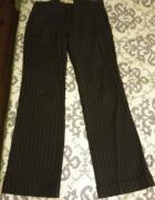 Spodnie eleganckie w paski...