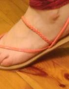 Sandały paseczki sandałki płaskie...