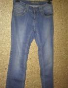 Redstar Niebieskie jeansy z prostą nogawką W29 L32...