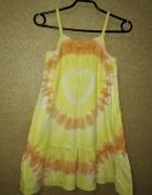 H&M Letnia bawełniana sukienka na ramiączkach 15 2 lata 92 cm...