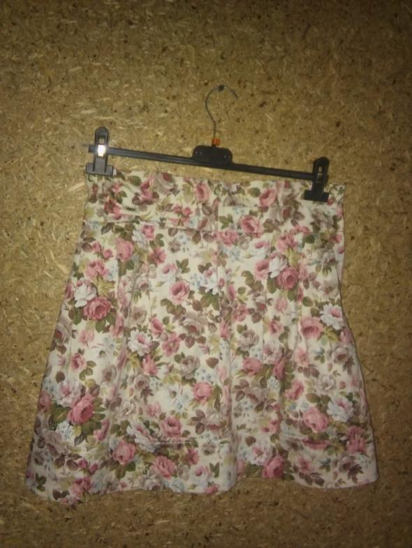 Atmosphere trapezowa spódnica w kwiaty 38...
