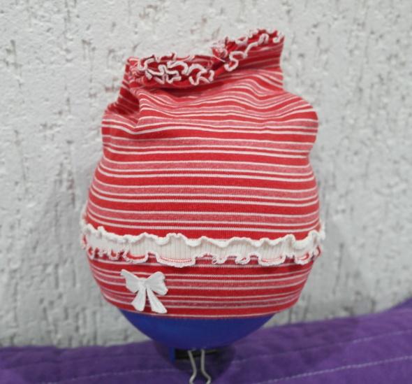 Kapelusiki opaski daszki czapeczki dla dziewczynki 74